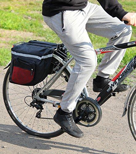 polomar bicicleta de equipaje bolsa de sillín Bicicleta Alforja ...
