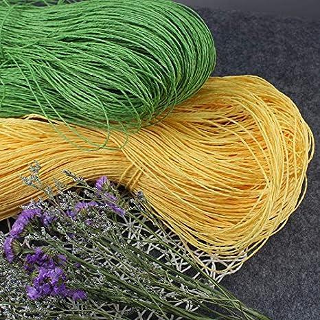 Amazon.com: Ovillo de lana para tejer, 17.64 oz/lote, rafia ...
