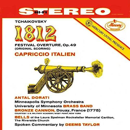Tchaikovsky: 1812 Overture; Capriccio Italien [2 LP]