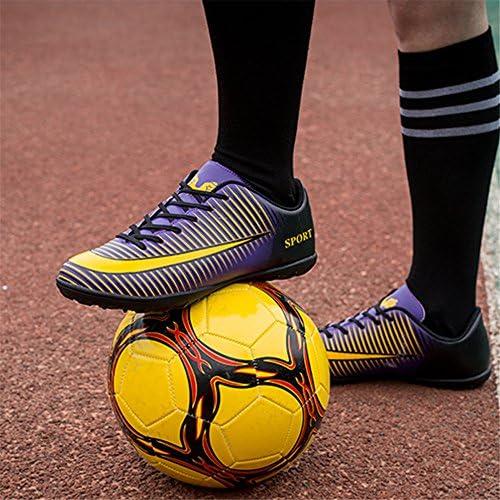 サッカーシューズ大人のティーンエイジャースポーツフットボールブーツTF芝スニーカースポーツフットボールブーツ親子シューズ