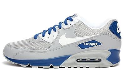 new concept aece4 b4534 Nike Air Max 90 Essential (Wolf Grey White-Dark Royal Blue) (