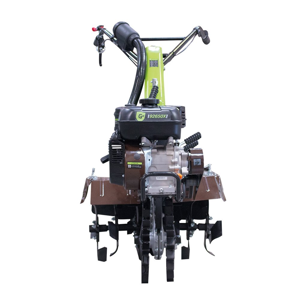 Groway 92650X - Motocultor y removedor avicola, 212 cc, 7 HP, incluye juego de fresadoras, ruedas agrícolas y metálicas: Amazon.es: Bricolaje y herramientas