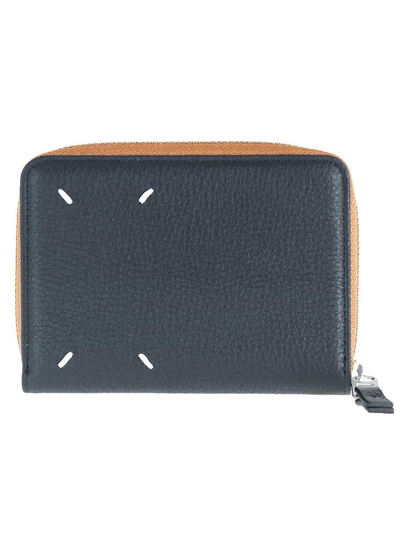 [メゾンマルジェラ] Maison Margiela 二つ折り財布 小銭入れ付 S55UI0187 PR516 [並行輸入品] B07DPKRRFK962 NAVY
