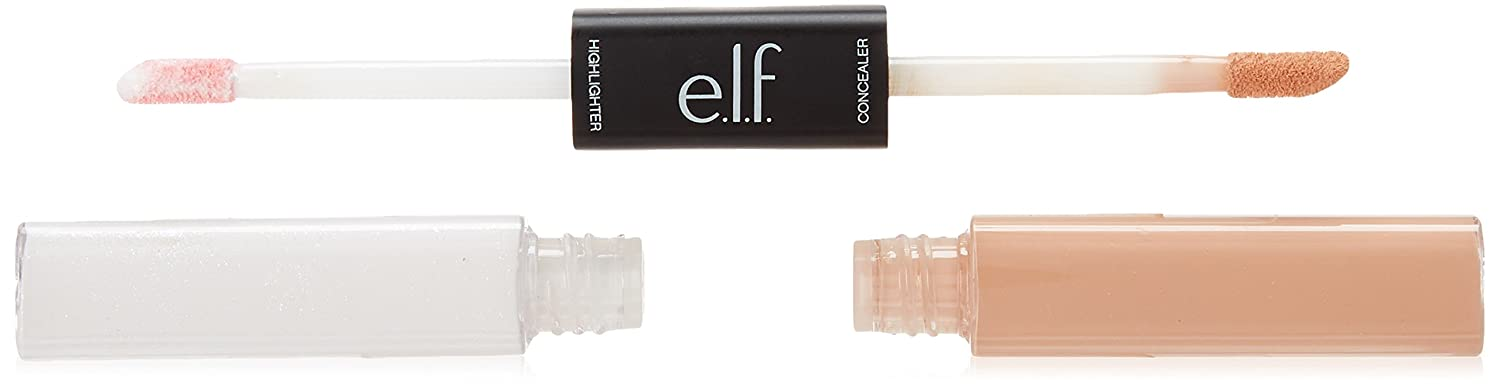 e.l.f. cosmetics Under Eye Concealer and Highlighter, Medium Glow 81503