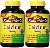 Nature Made Calcium 600 Mg, with GEObL Vitamin D3, Value Size 220 Count (2 Pack) tutUA Review
