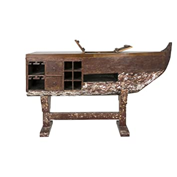 Canett Furniture Boat Bartisch Weinregal Boot Weinschrank Theke