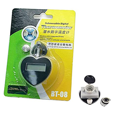 Snner Boyu Bt-08 Premium Acuario Termómetro Digital Digital Estufa termostática termómetro termostato termómetro con