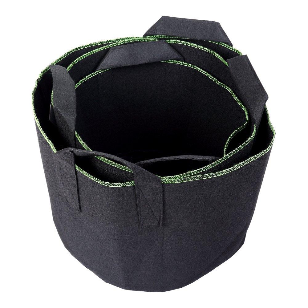 20 Schramm Confezione da Sacchi per piante di tessuto non tessuto 15 30/litri per piante Stock 3/pezzi giardino sacco in tessuto Flies Piantare vaso per piante contenitore Piante sacchetto