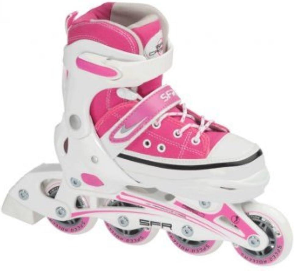 UK8 Jnr - UK11 Jnr SFR Camden Girls Adjustable Inline Skates Small
