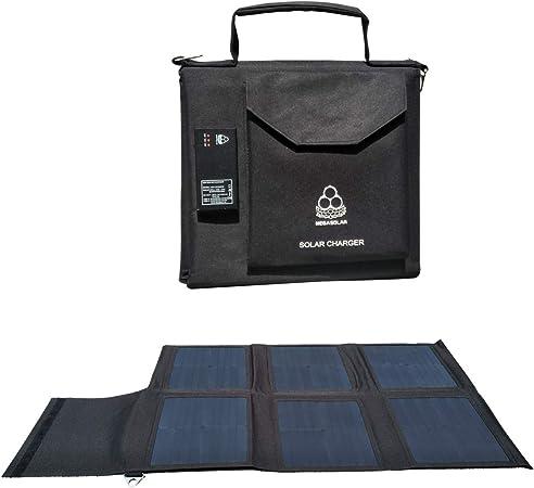 Amazon.com: SZMJSOLAR Cargador solar: Jardín y Exteriores