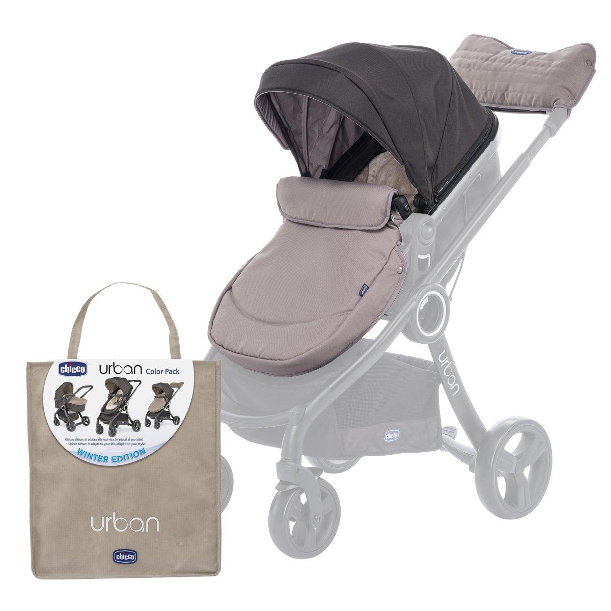 Chicco 79337 Colour Pack Urban Stroller Kit Passeggino, Beige/Nero (Winter Day) Artsana 79337120000