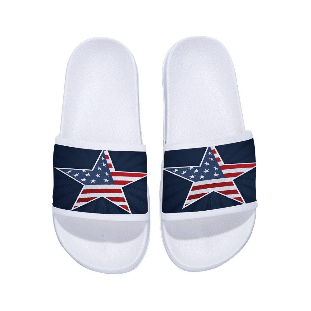 Eric Carl Sandals for Boys Girls Anti-Slip Bath Slippers Shower Shoes Indoor Floor Slipper(Little Kid/Big Kid)