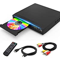 Tojock DVD Player with HDMI AV Output, DVD Player for TV, Contain HD with Coaxial Output/HDMI AV Cable/Remote Control…