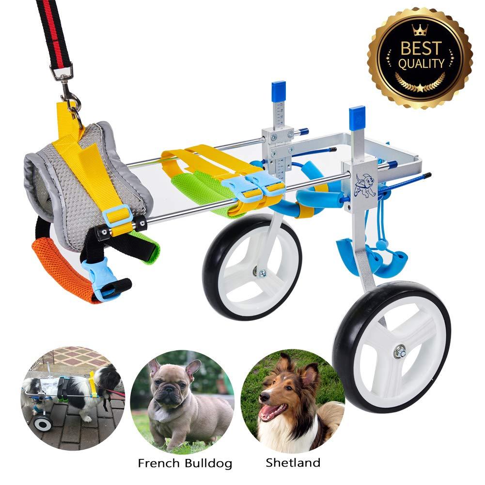 Silla de ruedas discapacitados perros- Pequeños