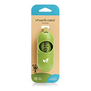Earth Rated Leash Dispenser for Dog Waste Bags