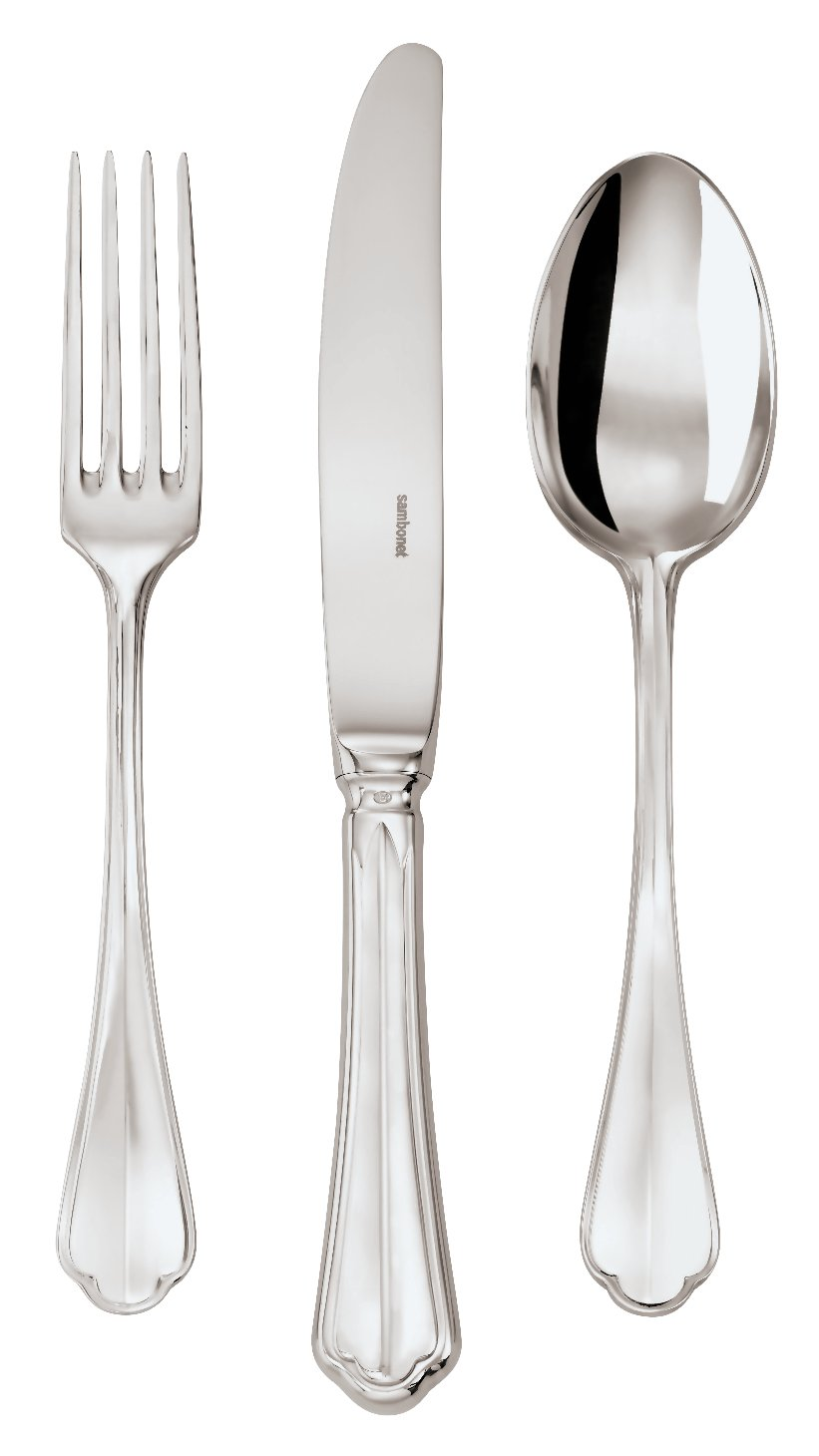 Carving Fork Rome - Silverplated