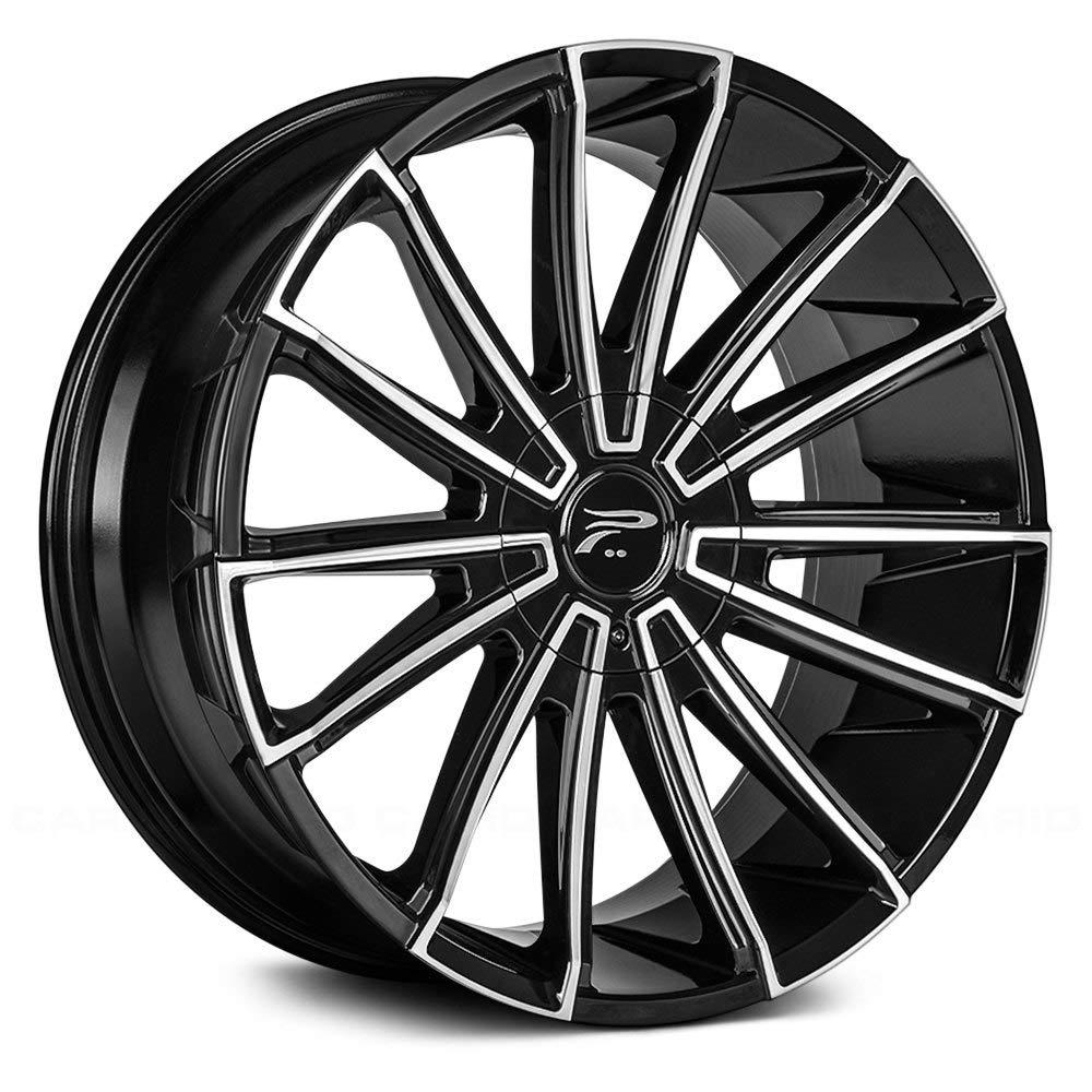 Platinum 439U Turbine Machined Black 20x9 5x115 / 5x5.5 15mm (439-2927U+15)