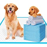 EZONEDEAL Extra-Large Pee Pads for Dogs Super Absorbent and Thicker Puppy Pads with New Quick-Drying Materials Potty…