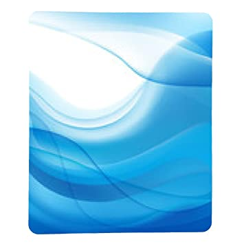 My Puzzle Design Vector Abstract Blue Wavy Water Amazon Co