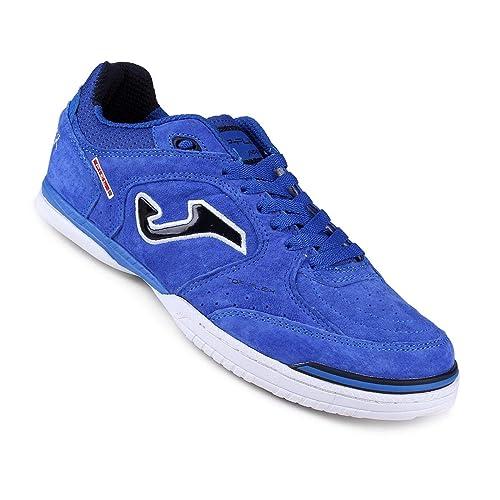 Zapatilla de fútbol sala Joma Top Flex Nobuck Blue  Amazon.es  Zapatos y  complementos 85ac9b8cdb770