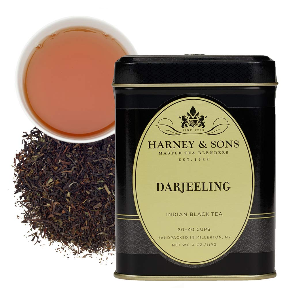 Harney & Sons Darjeeling Tea, Loose 4 oz tin