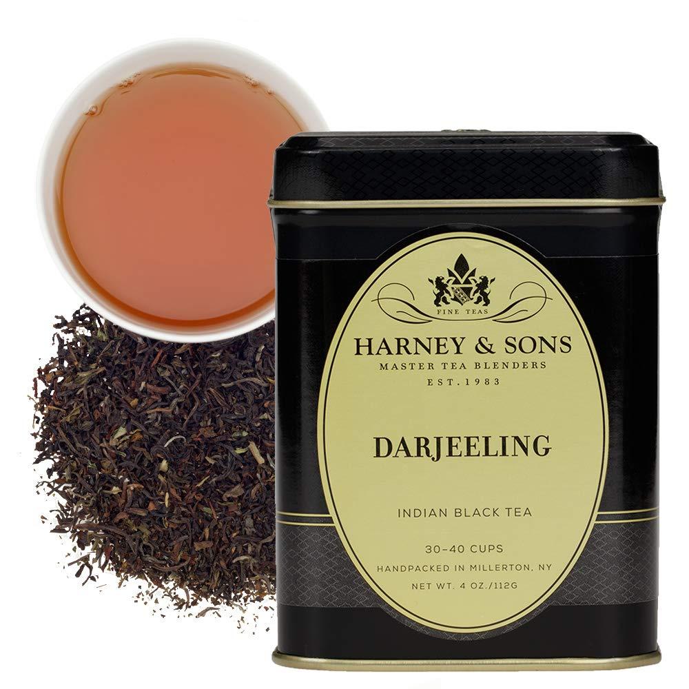 Harney & Sons, Tea Black, Darjeeling, 4 Ounce