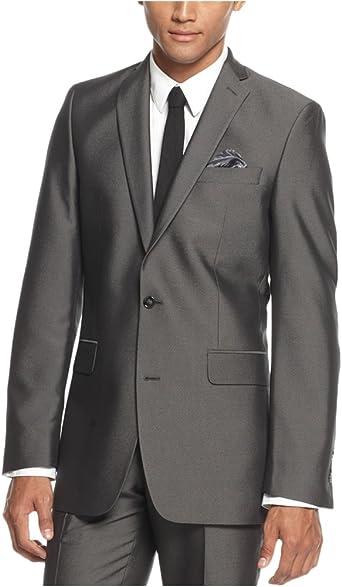 Tallia Mens Modern-Fit Two Button Blazer Jacket