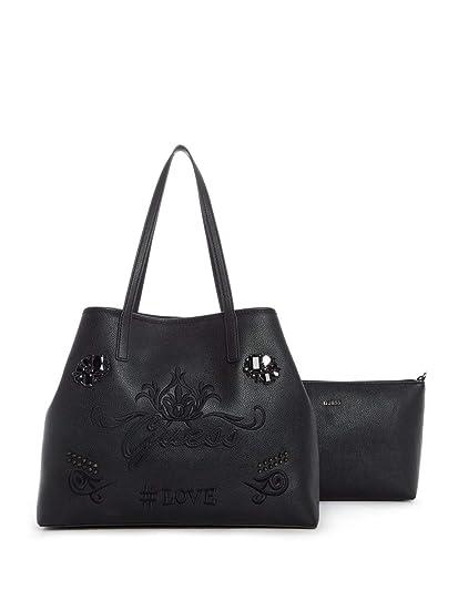 Guess HWEJ69 95240 Bag big Accessories Black Pz.  Amazon.co.uk ... dd657c7a7e3f3