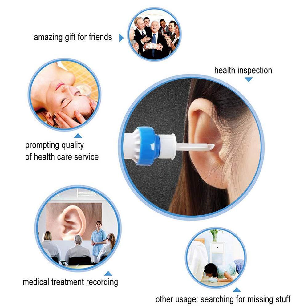 Gobesty Ohrenreiniger Jugendliche Erwachsene Automatischer Intelligenter Ohrenschmalz Entferner Ohrwachs Entfernungs Ohr Schmalz Reiniger Ear Cleaning f/ür Kleinkinder Babies