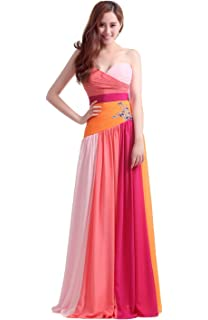 luckyservice88 Long Orange-Red Part Prom Dress Cocktail Dresses Formal Bridesmaid Gowns10