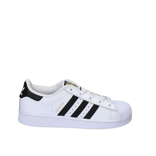 ae47d90438 adidas Superstar C, Zapatillas de Baloncesto Unisex Niños: Amazon.es:  Zapatos y complementos