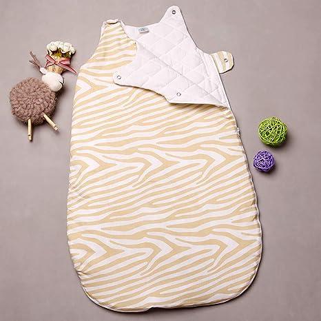 Saco de dormir para bebé Tollder AntiKick - Colcha para bebé recién nacido de algodón grueso