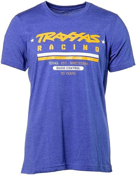 Traxxas HERITAGE TEE HEATHER BLUE L 1382-L T-Shirt Größe L Blau