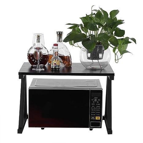 Küchenregal Mikrowellenhalter Mikrowelle Regal Holder 2 Ablagen Küchen Schrank
