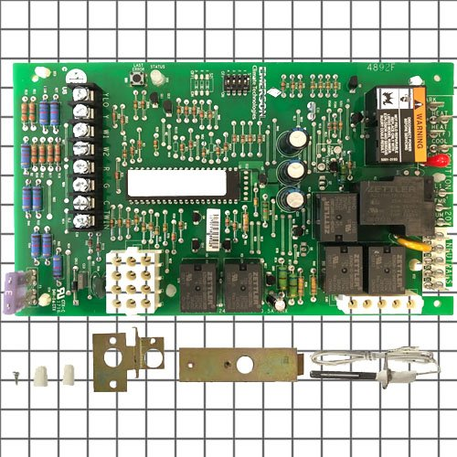 (872670 - White Rodgers Upgraded Replacement for York Furnace 2 Stage Control Circuit Board)