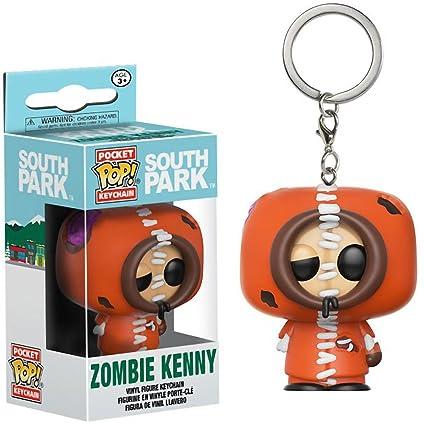 Amazon.com: Funko Zombie Kenny Pocket POP! x South Park Mini ...