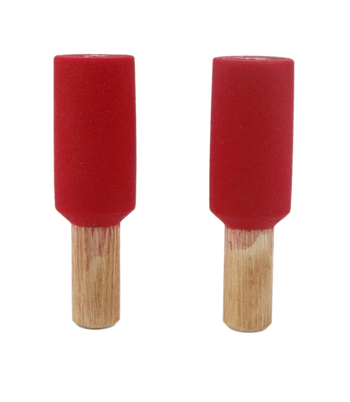 2'' Horizontal Peg Board Pipes (Set Of 2)   Climbing Holds   Red