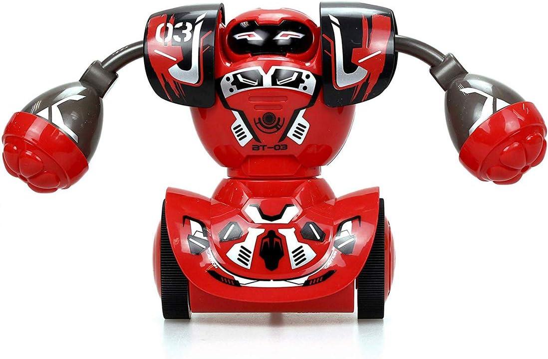 Batalla Multijugador Adecuado para Ni/ños y Ni/ñas Robot de Boxeo con Control Remoto Robot de Combate Regalos de Cumplea/ños para Ni/ños YIMUOUBA Robot Toys Robo Kombat Paquete Doble