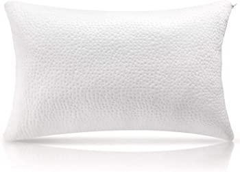 Milemont Shredded Memory Foam Pillow with Washable Removable Pillowcase