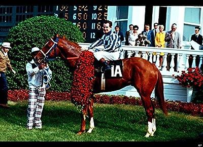 Gatsbe Exchange An 8x10 Photo Secretariat Wins Kentucky Derby Horse-Racing