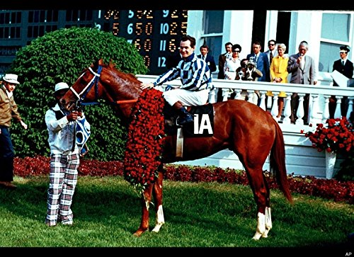 An 8 x 10 Photo Framed Secretariat Wins Kentucky Derby Horse-Racing by Celebrity Framed Art