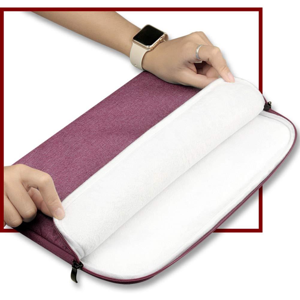 Impermeable de absorción portátil de choque Fundas blandas,Negocio portátil absorción portátil caso compatible 12-15 pulgadas macbook cartera bolsa de bolsa de transporte-marina 11.6pulgada 8083f1