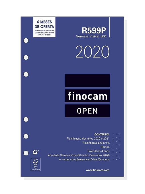Amazon.com: Finocam – Recambio anual 2020 Semana Vista ...