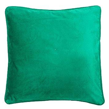 Amazon.com: Funda de cojín de terciopelo verde 11.8 inch ...