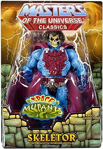 Masters of the Universe Space Mutants Intergalactic Skeletor Figure