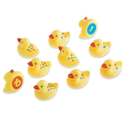 Learning Resources Number Fun Ducks, Set of 10: Toys & Games