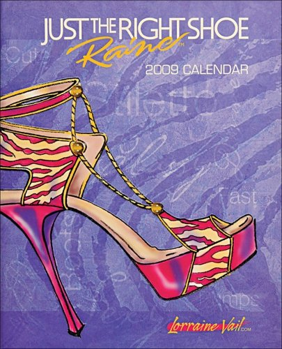 Just the Right Shoe: 2009 Desk Calendar - Just The Right Shoe 2008 Shopping Results