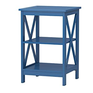 Convenience Concepts Oxford End Table, Blue