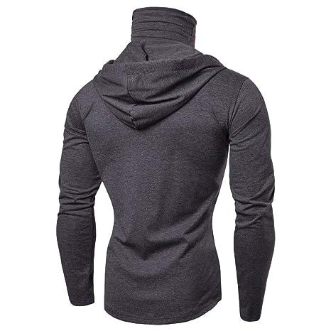 Herren Maske Sch/ädel Reine Farbe Pullover Langarm-Kapuzenpulli /übersteigt Bluse