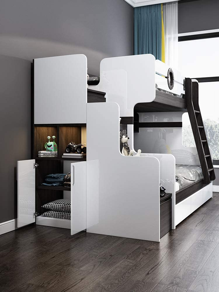 Bunk Bed Girl Bedroom Girl 1 5 Meters Bed And Small Bedroom Mother And Daughter Small Apartment Adult Multifunctional Economic Type Home Kitchen Kids Furniture Sek Pro De